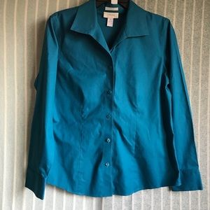 Chico's Teal Blouse